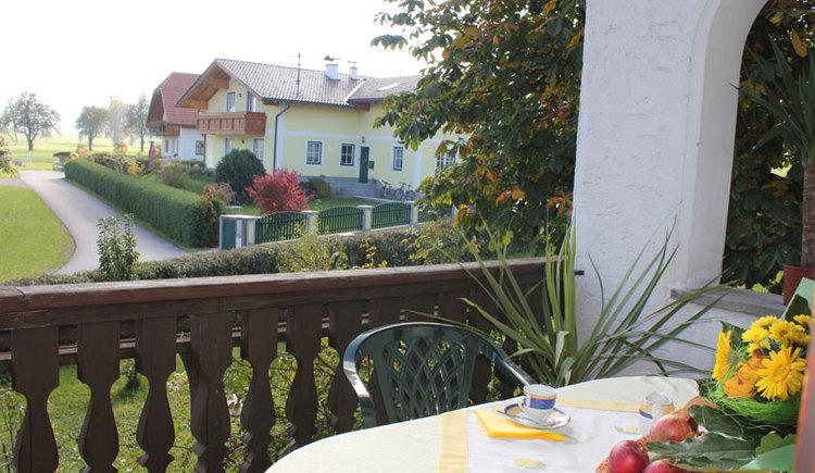 Balkon: Ferienwohnung, Rosa Mair-Zeininger, Sankt Georgen im Attergau