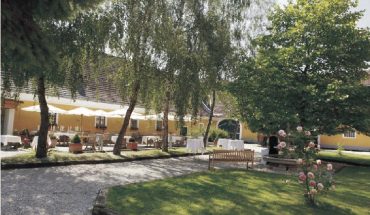 Hof - Gastgarten