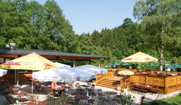 Langbathseestüberl - Gastgarten