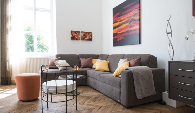 Wohnzimmer Refugium (© Schodterer)