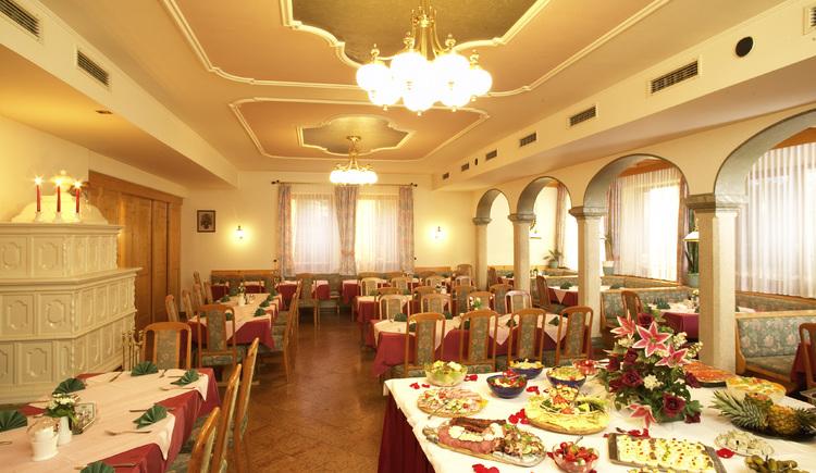 Landgasthof und Seminarhotel Kobleder in Mettmach - Buffet