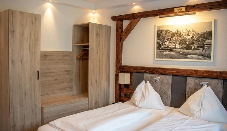 neu renoviertes Doppelzimmer. (© Ferienregion Dachstein Salzkammergut)