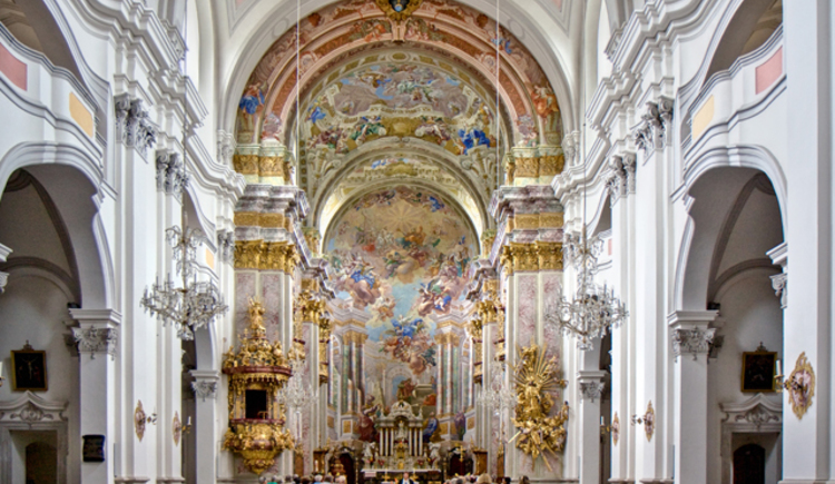 Stiftskirche Dom am Pyhrn (© TVB/Sulzbacher)