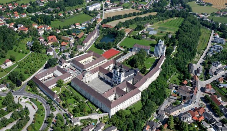 Stift und Ort Kremsmünster. (© Marktgemeinde Kremsmünster)