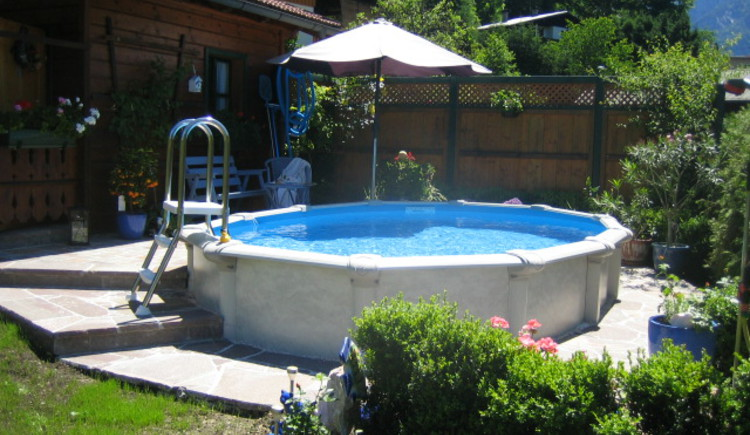 Enjoy during the summer months, a cooling in the hotel's own small pool.