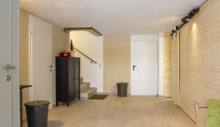 Vorraum Trockenraum, Sauna (© by Gästehaus