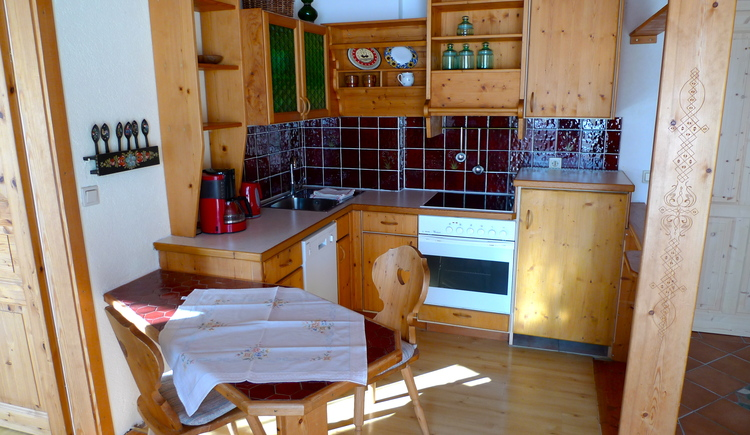 Fully equipped kitchenette and small dining area
