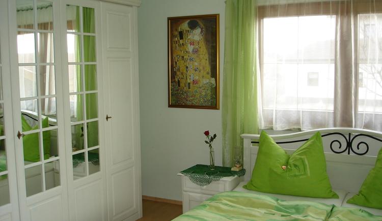Schlafzimmer. (© Familie Hinterdorfer)