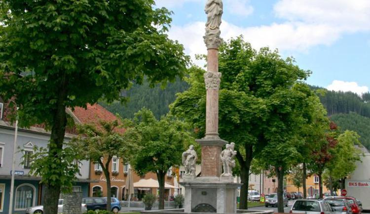 Pestsäule in St. Leonhard im Lavanttal (© Verein BENEDIKT BE-WEG-T)