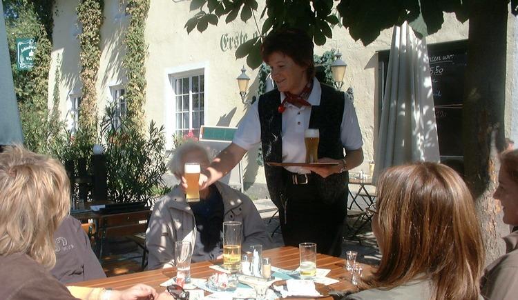 Einkehr in der Schlossbrauerei Weinberg