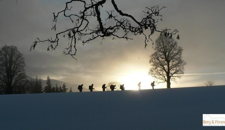 Snow show trekking through the winter landscape of Faistenau (© Berg&Fitness - Christan Fuchsberger)