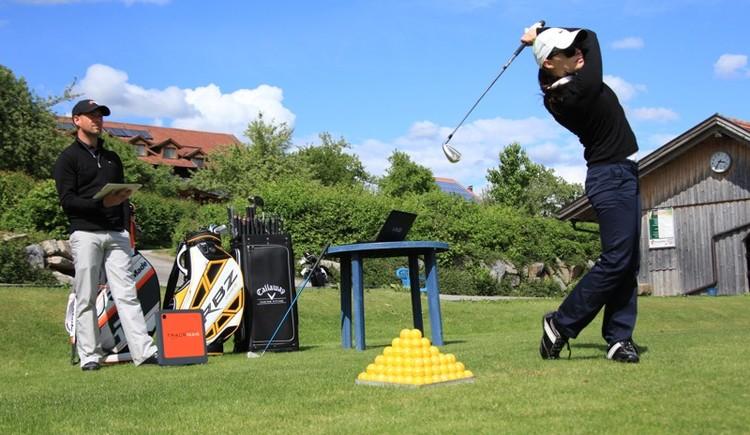 Golfunterricht mit Trackman-Master Headpro John Parkinson (© Anetseder)
