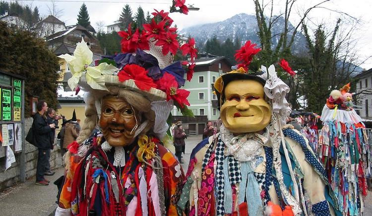 Fetzen mit Holzmaske (© Fotoklub Ebensee)