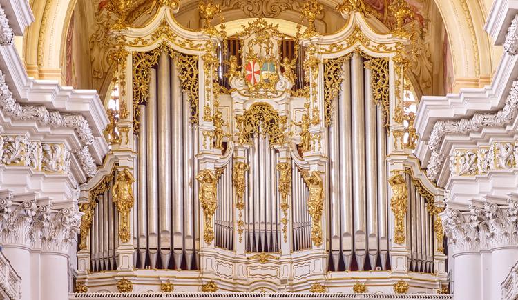 Die Bruckner-Orgel im Stift St. Florian. (© Stift St. Florian/Pedagrafie)