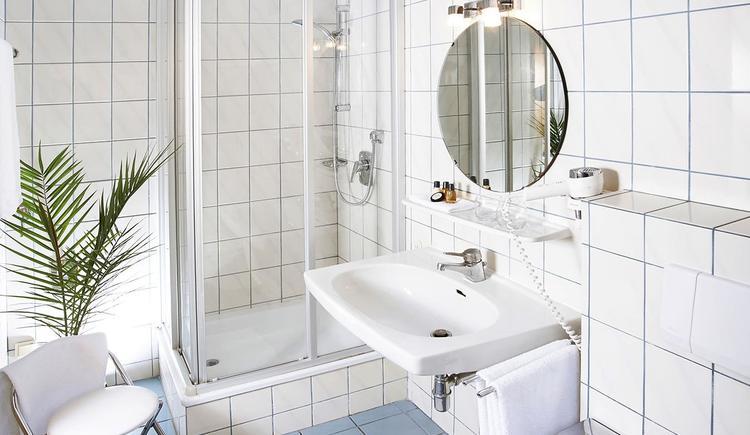 Badezimmer Studio und Studioappartement (2)