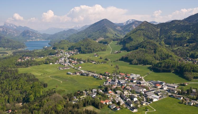 Hof bei Salzburg, Luftaufnahme. (© TVB Hof)