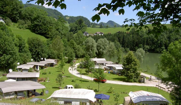 Campingplatz Aschatal - Großraming (© TV Nationalpark Region Ennstal)