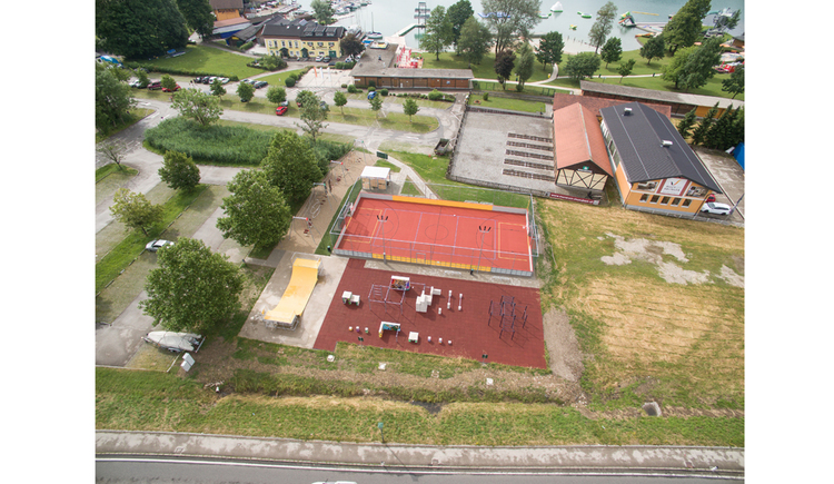 Aerial photograph from the fitnesspark