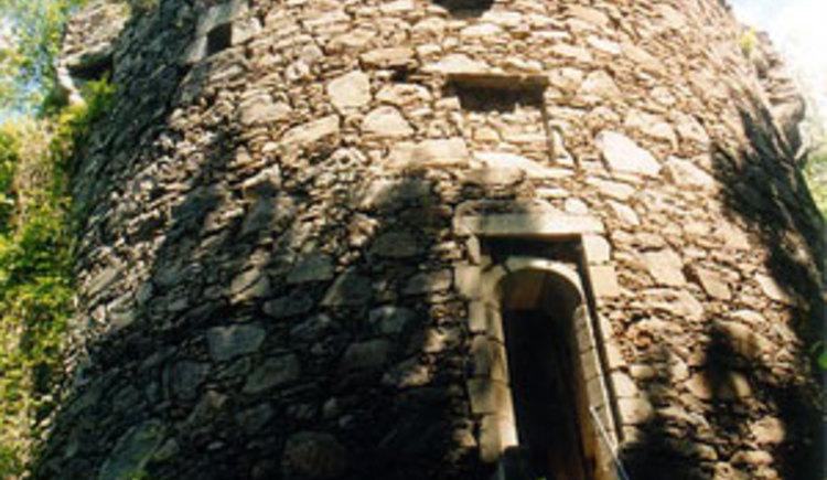 Wasserturm der Ruine Falkenstein
