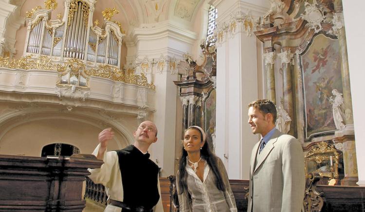 Engelhartszell: Führung durch Stift Engelszell