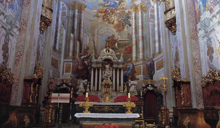 Altar im Dom am Pyhrn (© OÖ Tourismus Marketing/Himsl)
