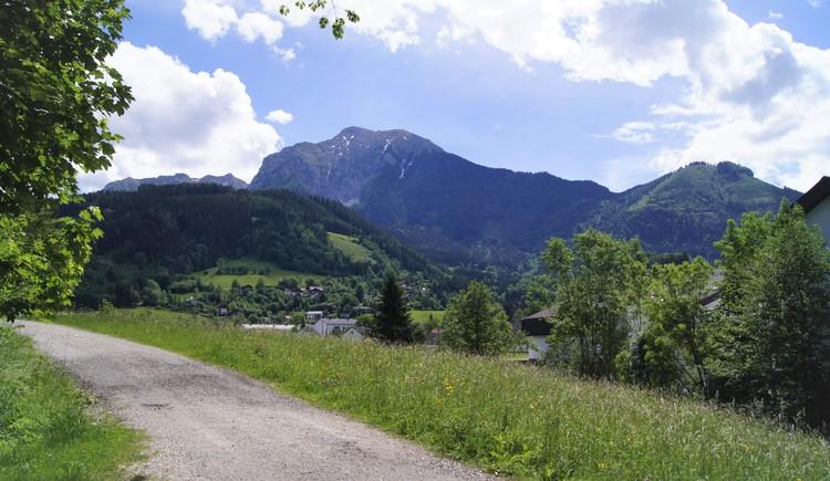 Panorama am Wohlfühlweg Taferlklaussee