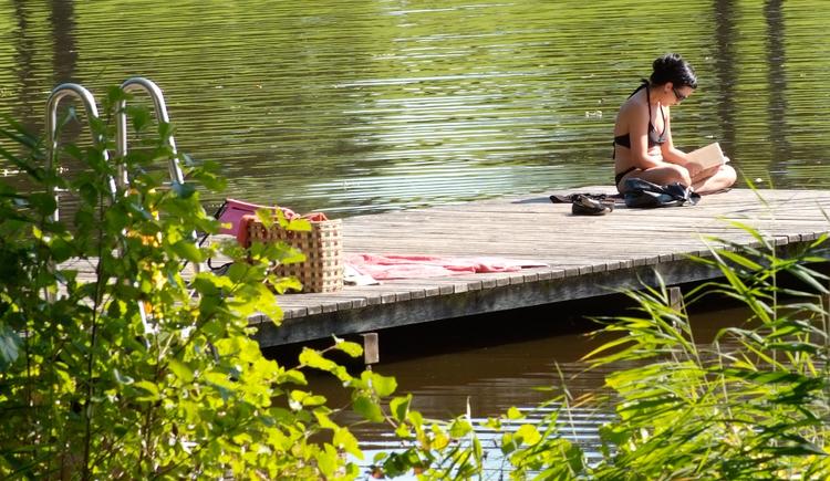 Holzöstersee wo die Seele Urlaub macht. (© TV-Franking (Pöllitzer))