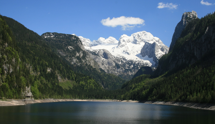 Here you also see a really beautiful picture of the Gosausee with Dachstein. (© Schmaranzer Andrea)