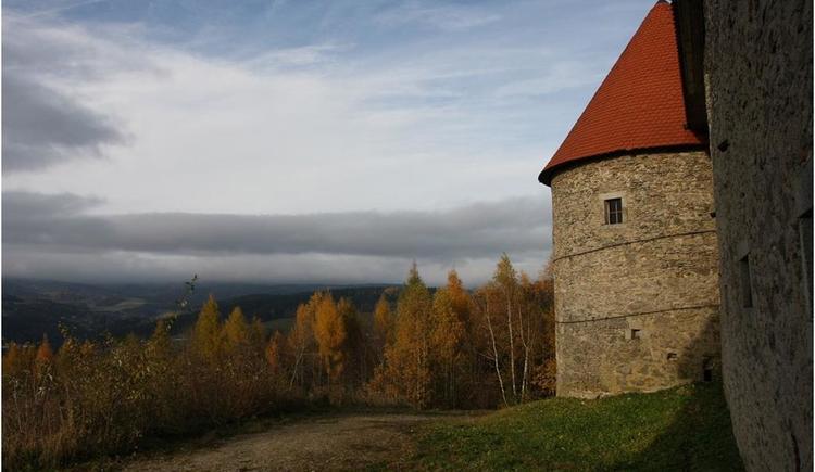 Aussciht von der Burg (© Kulturverein Burg Piberstein)