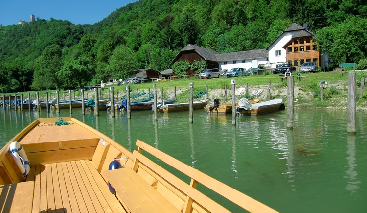 Im Zillenhafen Witti, Freizell. (© Schiffleut v.o.Donautal)