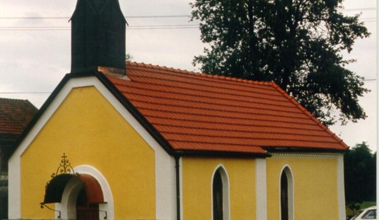 Schutzengelkapelle. (© Gemeinde Dorf an der Pram)