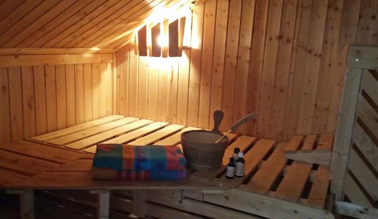 Ferienwohnung Dachs - Sauna (© Ing. Franz Anton Dachs)
