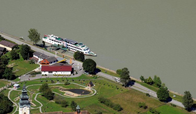 Schiffsanlegestelle Engelhartszell II (© WGD Donau Oberösterreich Tourismus GmbH)