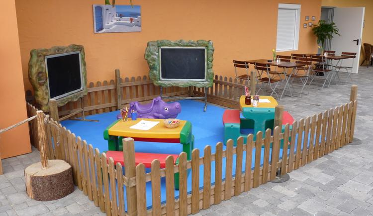 Indoorbereich in der Spielarena Abarena