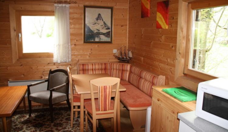Wohnküche im Camp Sibley Hütte - Laussa (© David Scheutz)