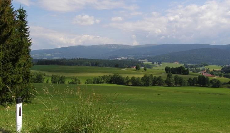 Blick auf den Böhmerwald. (© Ferienregion Böhmerwald)