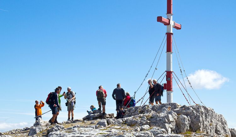 Gipfelbesucher (© TVB Pyhrn-Priel/Sulzbacher)