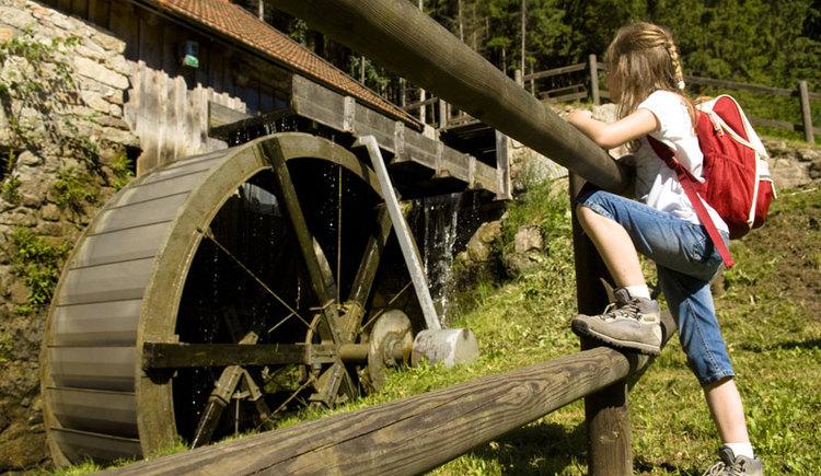 Buchen Sie als Gruppe eine Schmiedevorführung in der revitalisierten Schmiede im wildromantischen Thurytal. (© OÖ Tourismus/Erber)