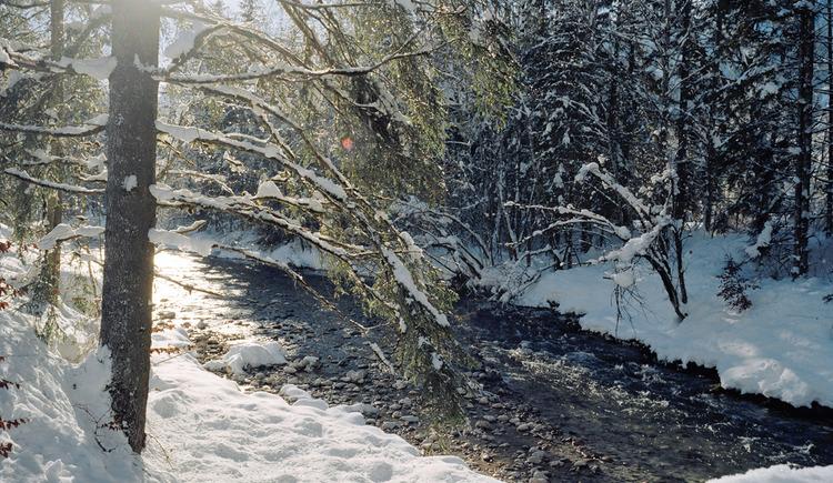 Hinterstoder Steyr Winterlandschaft. (© Gemeinde Hinterstoder)