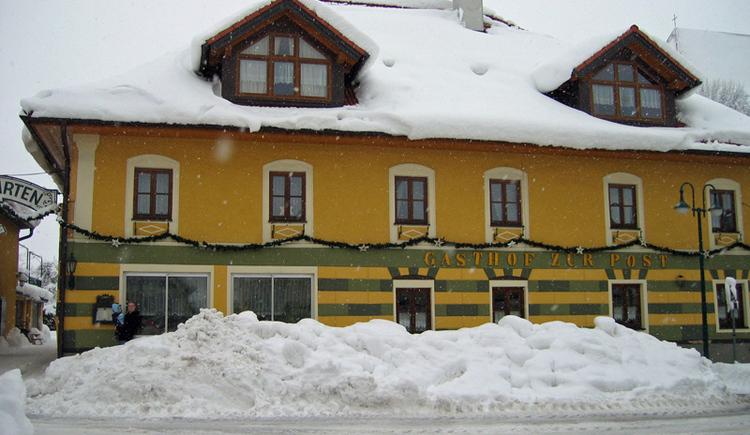 Im Zentrum von Schörfling am Attersee gleich neben der Kirche