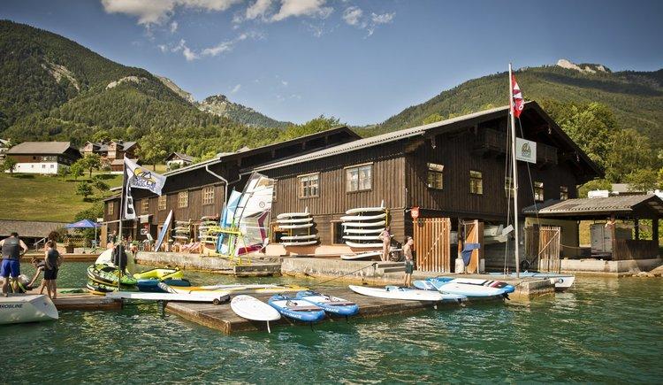 Sportcamp Raudaschl Segelmacherei und Bootshaus. (© Sportcamp Raudaschl Mirja Geh)