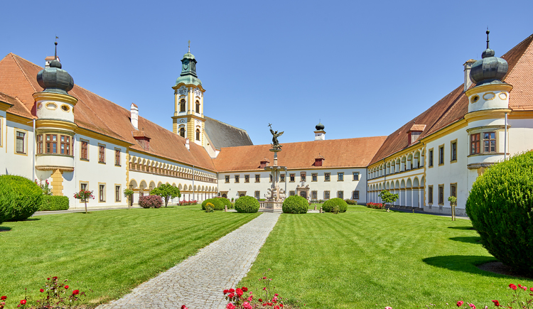 Führung durch das Stift Reichersberg. (© www.pedagrafie.de)