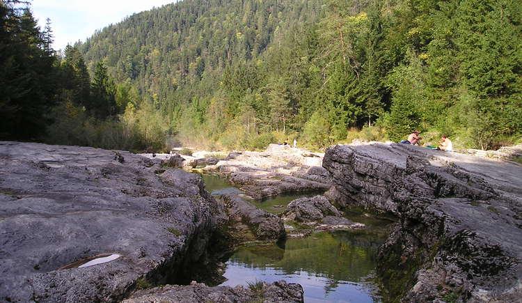Felsenbad in Faistenau (© Tourismusverband Faistenau)