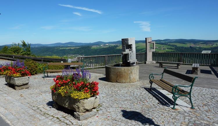 Aussichtsplattform. (© Gemeinde Vichtenstein)