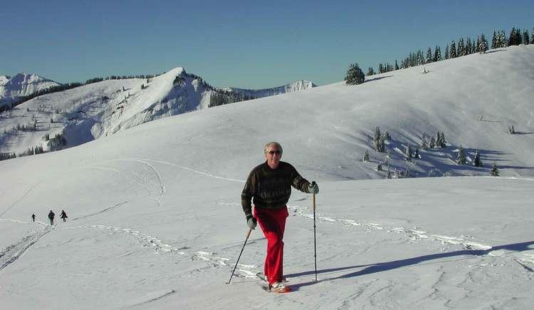 Schneeschuhtour. (© Rudi Vonach)
