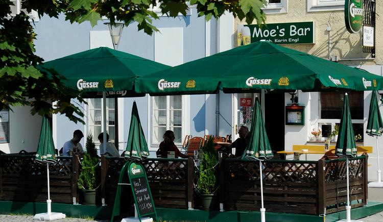Moe's Bar, Obernberg, Gastgarten