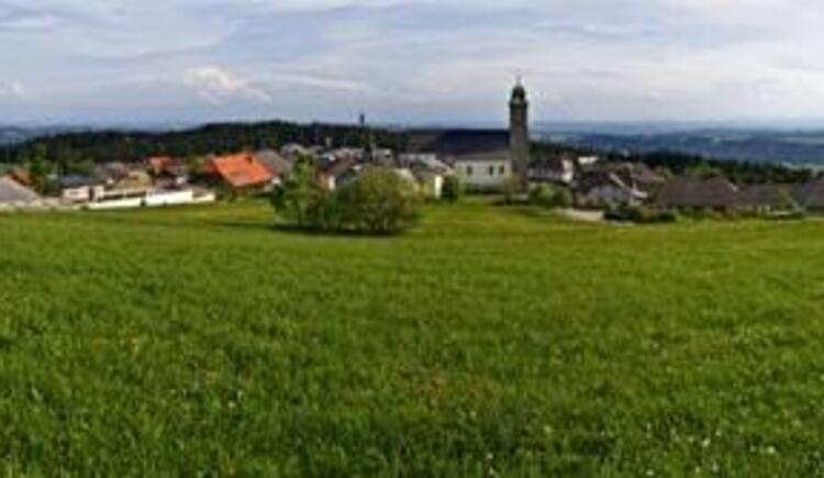 Panoramablick Pfarrkirchen (© WGD Donau Oberösterreich Tourismus GmbH/Weissenbrunner)