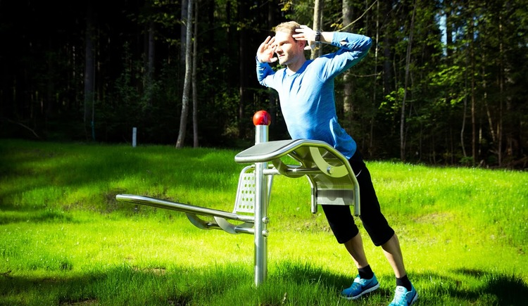 Fitnessparcours-Vortuna (© Vortuna Gesundheitsresort Bad Leonfelden)
