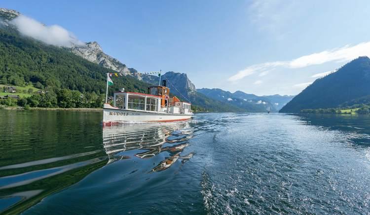 Schifffahrt Grundlsee (© Schifffahrt Grundlsee/Florian Loitzl)