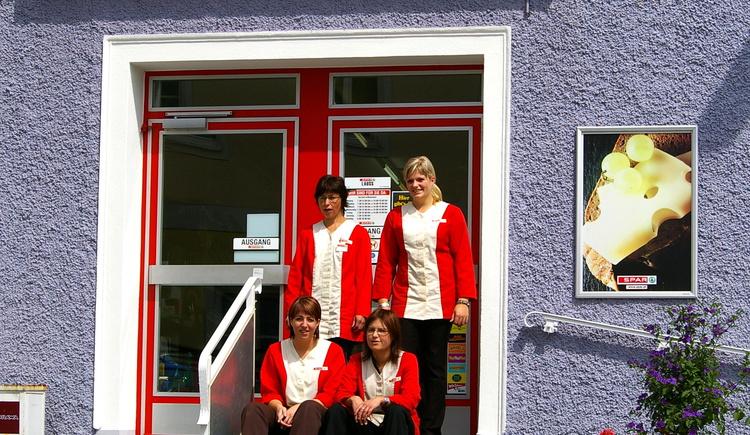 Mitarbeiterinnen Sparmarkt Lauss